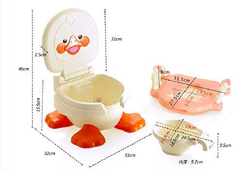 Sedia vasino in per bambini e bambine vasino portatile da