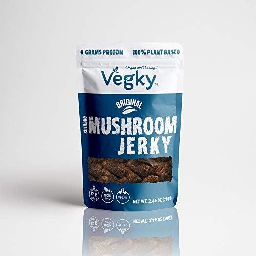 VEGKY Vegan Shiitake Mushroom Jerky ORIG
