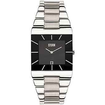 STORM Herren-Armbanduhr Analog edelstahl Silber 47195-BK