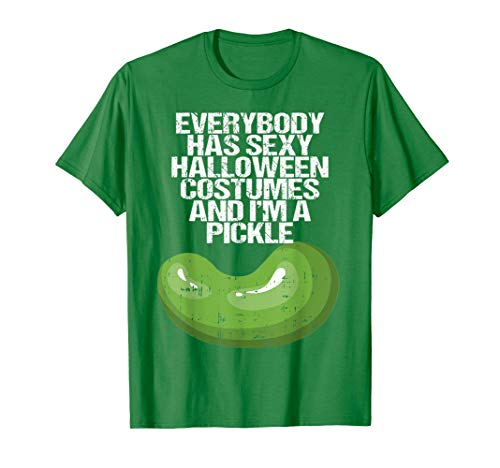 Funny College Halloween Costume Ideas 2019 (I'm a Pickle Costume Funny Easy Fruits Halloween Gift)
