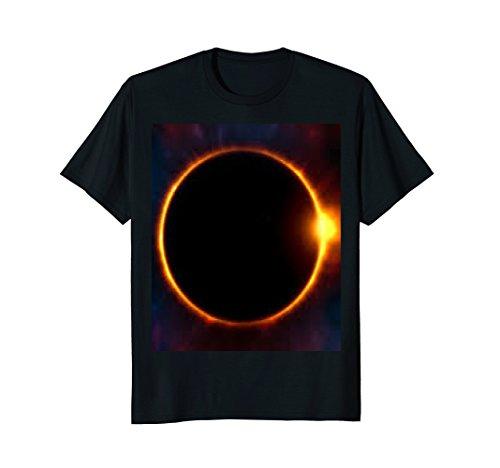 (Eclipse; Earth, Moon, Sun, Solar System t shirt Gift)