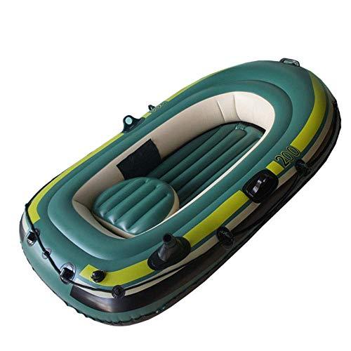 LMDK Inflatable Dinghy Boat PVC Sport Tender Fishing Raft Dinghy