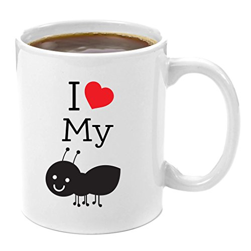 I Love My Aunt Premium 11oz Coffee Mug Gift | Perfect Sister Gifts, Aunt and Uncle, New Big Little Sister Present Ideas for Birthday Christmas, Soul Secret Sis Best Personalized Unique For From Auntie