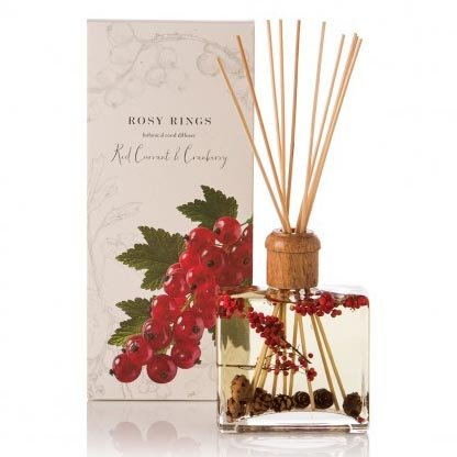 Rosy Rings Botanical Reed Diffuser 13 Oz. - Red Currant & Cranberry by Rosy Rings