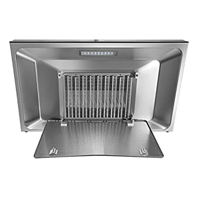 """FOTILE EMS9016 36""""Without Cabinet High Airflow Kitchen Range Hood with LED Lights"""