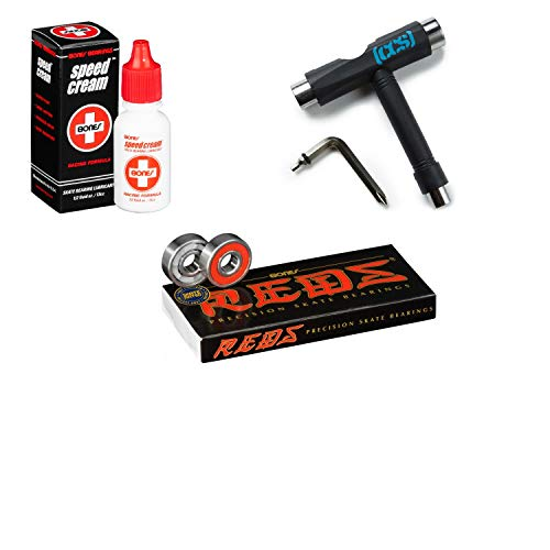 (Bones Speed Cream (Speed Cream, Reds, and CCS Skateboard Tool))