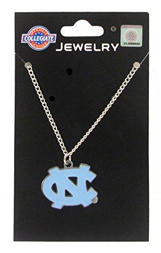 North Carolina Tar Heels - UNC Logo Pendant Chain Necklace - NCAA College Athletics Fan Shop Sports Team Merchandise
