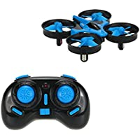 YSHESS EACHINE E010 JJRC H36 Mini 2.4G 4CH 6Axis Gyro Headless Mode Remote Control RC Quadcopter RTF One-key Return-Blue