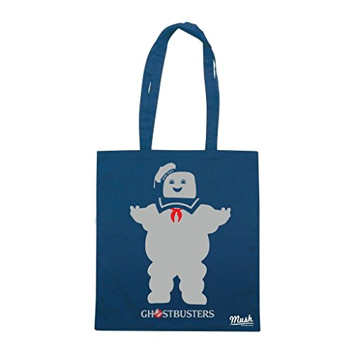 Borsa Stay Puft Ghostbusters - Blu Navy - Film by Mush Dress Your Style