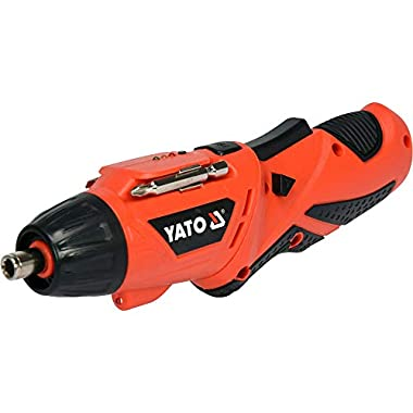 Yato YT-82760 Screwdriver 3,6V|Screwdriver Set for Home|Scredriver|Tools for Home|Home Tools Kit Set|Hand Tools|Power Tools Drill Machine|Drilling Machine|Screwdriver Set for Home 13