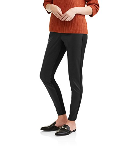 Beau Dawson Women's Faux Leather Front Panel Legging ()