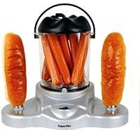 Lysitéa BKR-03301-LYS Machine à Hot-dog 4 en 1: Pop Corn / Oeufs / Hot-dog / Epis de Mais 370 W