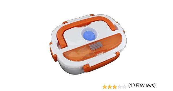 Fiambrera eléctrica TH-ELB105 1.05 litros color naranja thulos tartera taper