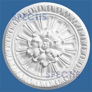(SPECTIS 17 Inch Diameter Ceiling Medallion #CM1717 Primed white polyurethane by Spectis Moulders)