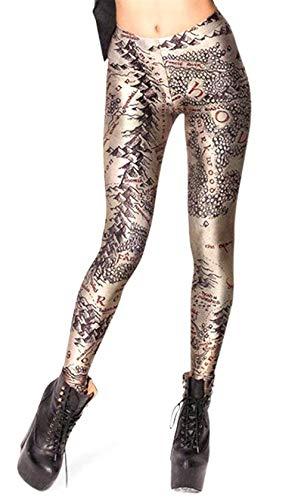 Donna Anni Elasticizzati Pantaloni Size 20 color Hellbraun M Da Spiaggia qfwRT