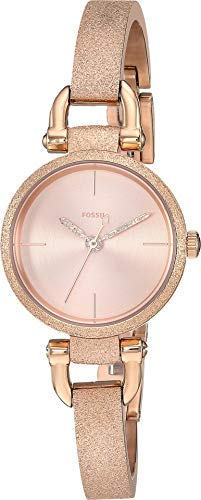 (Fossil Women's Georgia - ES4479 Rose Gold One Size)