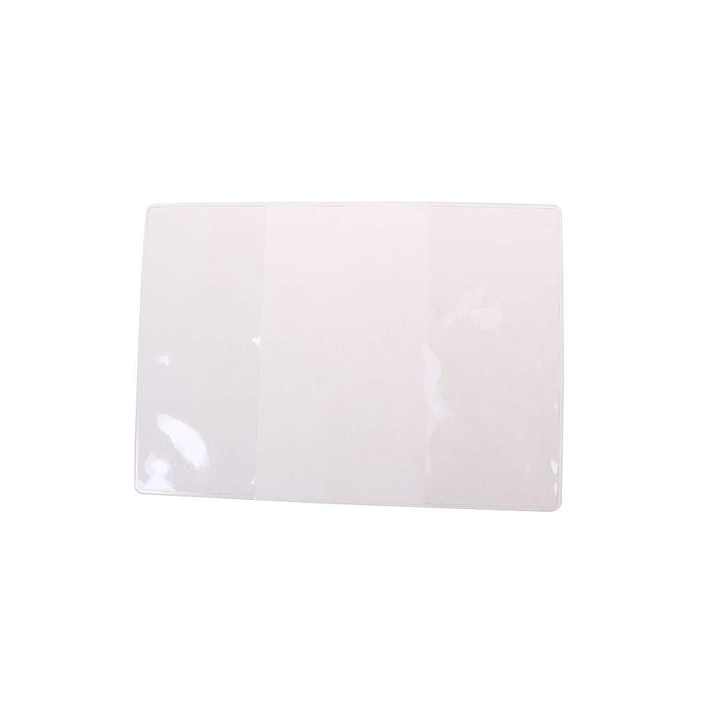 Sqiuxia /Étui de Protection pour Passeport Transparent givr/é