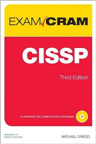 Cissp Exam Cram 3rd Edition Pdf