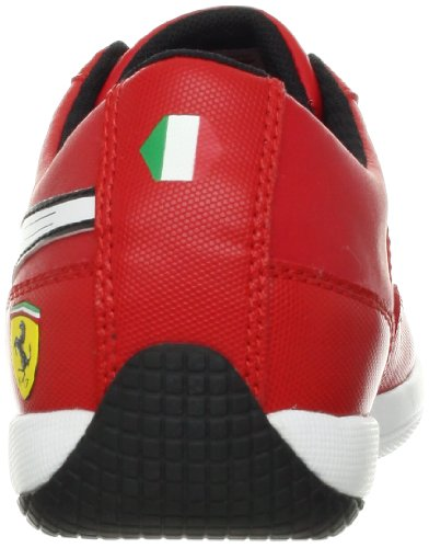 Puma Heren Eerste Ronde Sf Fashion Sneaker Rosso Corsa / Wit