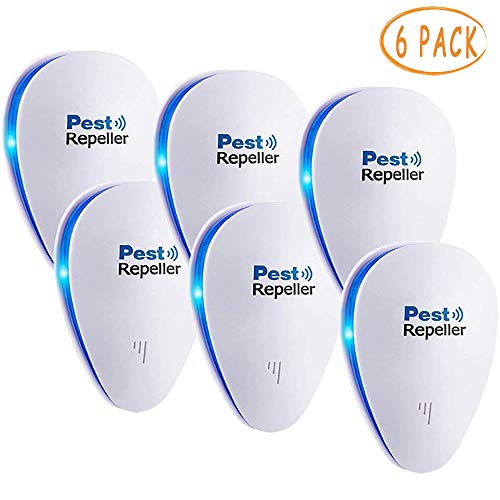 - JALL Upgraded Ultrasonic Pest Repeller Plug in Pest Reject Control, Electric Mouse Repellent for Cockroach, Mosquito, Mice, Rat, Roach, Spider, Flea, Ant, Fly, Bed Bugs, No Poison or Sprays