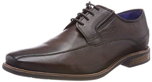 Bugatti Herren 311458024100 Derbys Braun (Dark Brown)