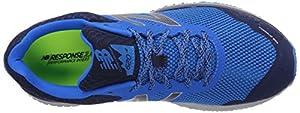 New Balance Mens Cushioning 620V2 Trail Running Shoe, Dark Denim, 9.5 D US