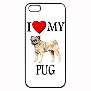 THYde Pink Ladoo? Custom Pug I Love My Dog Photo ipod Touch4 Case Cover Hard Shell Back ending