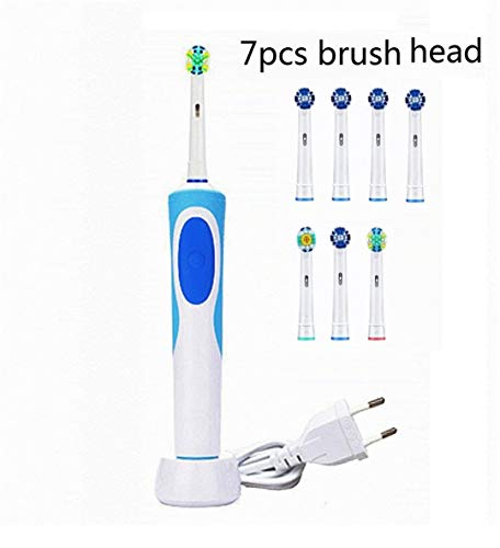 Rechargeable Electric Toothbrush Ultra Toothbrush For Children Kids Adults Teeth Brush Waterproof 7pcs brush head1