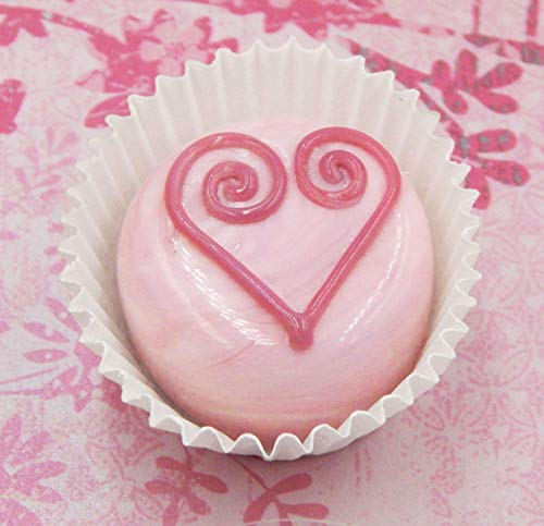 Strawberry Glass Chocolate Heart Candy Home Décor