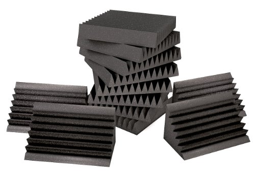 sonic-homework-acoustic-sound-foam-kit-incl-192-sqft-4-in-thick-wedge-foam-and-8-corner-bass-traps-w