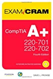 img - for By David L. Prowse CompTIA A+ 220-701 and 220-702 Exam Cram (4 Pap/Cdr/) [Paperback] book / textbook / text book