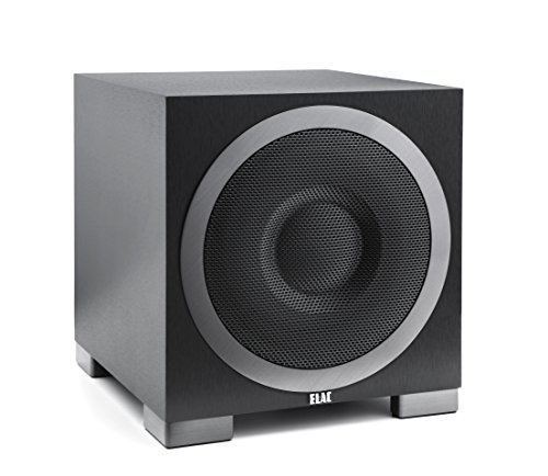 ELAC S10EQ Debut Series 400 Watt Powered Subwoofer by Andrew Jones with AutoEQ by Elac