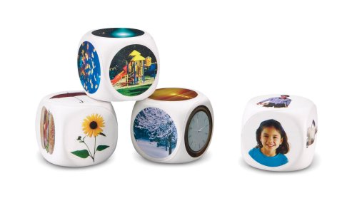 Learning Resources Photographic Story Starter Cubes