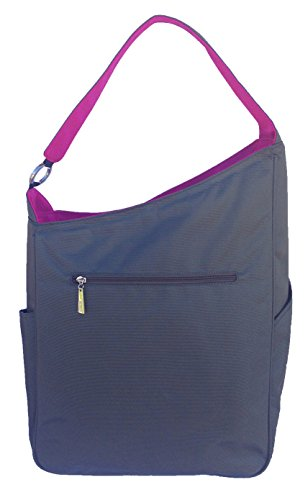 Maggie Mather - Shoulder Bag - Pewter/Fuchsia by Maggie Mather (Image #2)