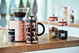 Bodum Chambord Classic Storage Jar, 68 oz, Copper