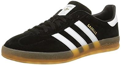 black adidas gazelle indoor