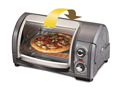 040094313341 - Hamilton Beach Easy Reach Toaster Oven, Metallic (31334) carousel main 4