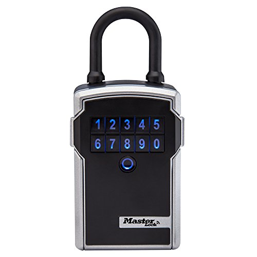 Master Lock Lock Box, Bluetooth Portable Key Safe, 3-1/4 in. Wide, 5440D