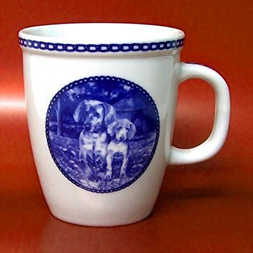 Weimaraner - Porcelain Mug made in Denmark Premium Quality and Design from Lekven. Perfect Gift For all Dog Lovers. Size - 4.2 inches.