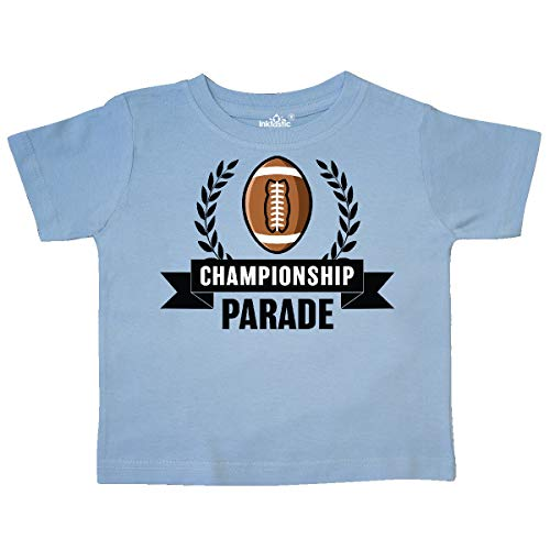 inktastic - Championship Parade with Banner Toddler T-Shirt 4T Light Blue 34515