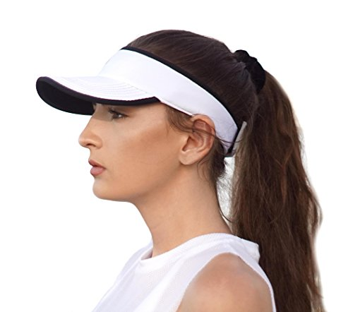 SAAKA Women's Sport Visor. Best for Tennis, Running, Hiking, Golf and - Women Visor Running