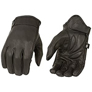Milwaukee Men's Summer Cruising Gloves (Black, X-Large)