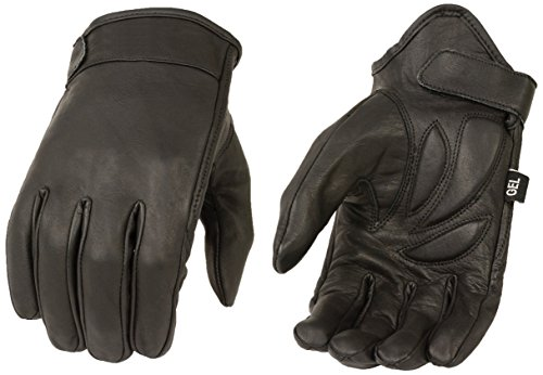 Milwaukee MG7510-BLK-2X Men's Summer Cruising Gloves (Black, XX-Large)