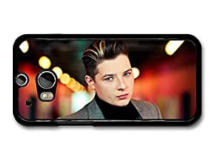 AMAF ? Accessories John Newman Close Up with Grey Jacket Looking Serious case for HTC One M8