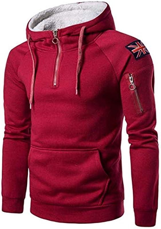 Męski długi rękaw sztruks gÓrna część kołnierz rozkładany z kurtką modny płaszcz outwear kieszeń z kapturem bluza męska oversize sweter top Coat: Odzież