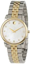 "Movado Women's 0606613 ""Museum Classic"" Two-Tone Watch"