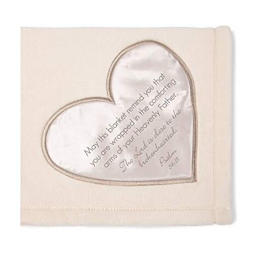 - Pavilion Gift Company Soft Heavenly Father Psalm 34:18 Plush Throw Blanket