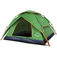 Toogh 2-3 Person Camping Tent Backpacking Tents Hexagon...