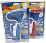 Tools & Hardware : O2 Cool Flexi Clip Fan - O2 Cool 1261 - Colors may vary Package Quantity 1