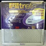 ultra allergen reduction filter - 3M FILTRETE Ultra Allergen Reduction filter 1250 2-Pack 20x20x1